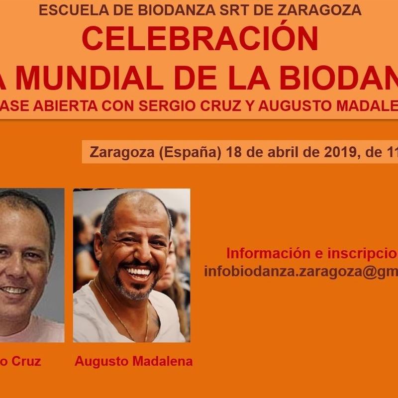 Celebración 'Día Mundial de la Biodanza'. Con Sergio Cruz y Augusto Madalena