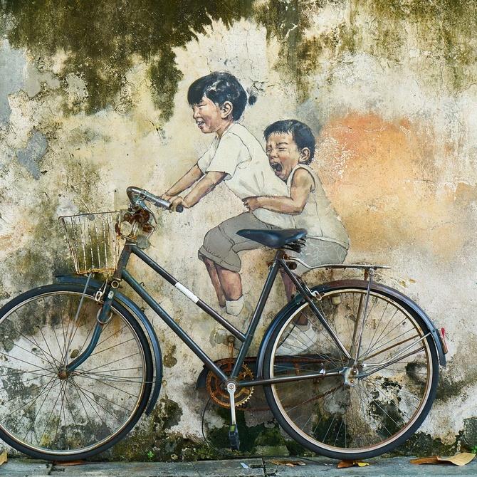 Permite a tus hijos pintar en la pared