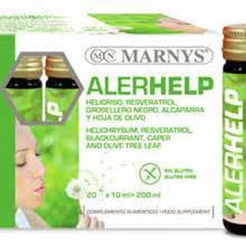 ALERHELP -Marnys-: Productos de Herboristería Natural