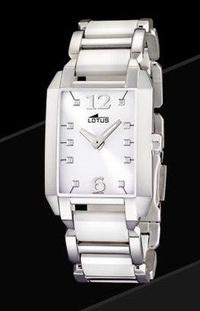 Reloj LOTUS Ceramica Blanca Chica: TIENDA VENTA ONLINE Joyeria de Hurtado y Uría Joyeros
