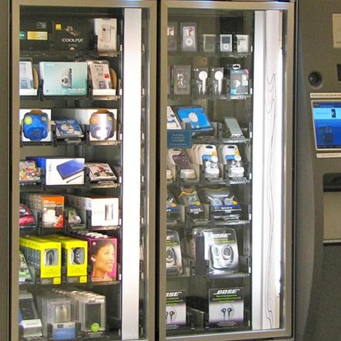 Máquinas vending para espacios públicos
