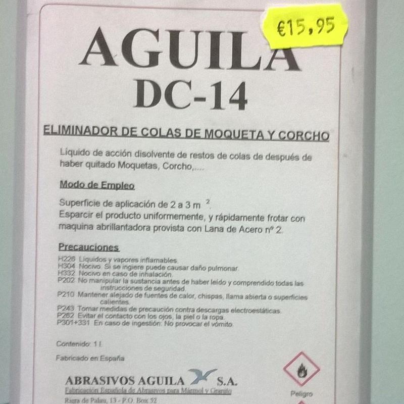 AGUILA DC-14  1L. : SERVICIOS  Y PRODUCTOS de Neteges Louzado, S.L.
