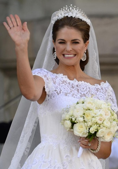 Boda de la princesa Magdalena de Suecia