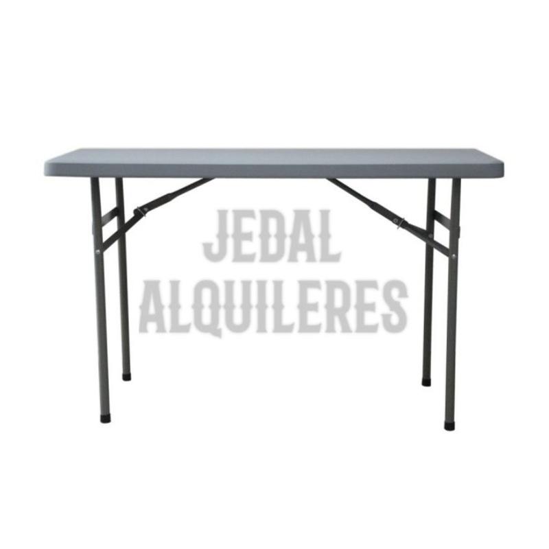 Mesa rectangular 122X61 cm: Catálogo de Jedal Alquileres