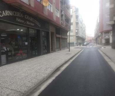 Reforma de la calle José Maria Matheu