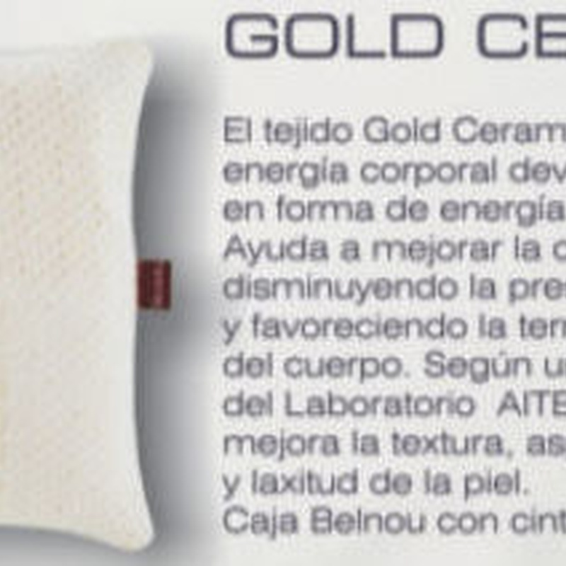 Almohada Gold Ceramic