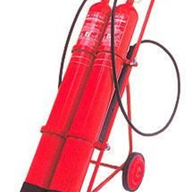 Extintores: Productos y servicios de Detecta PCI