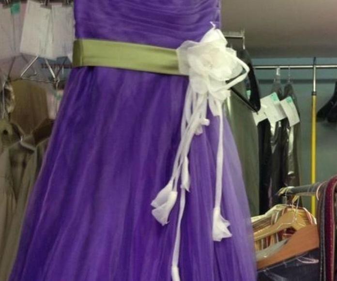 Tinte de vestidos de novia Barcelona
