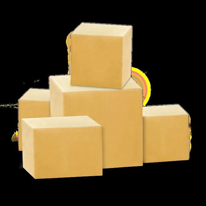 Qué tipos de cajas podemos utilizar en una mudanza
