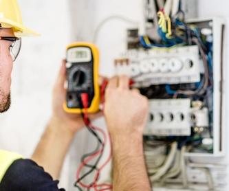 Reformas eléctricas: Servicios de Instalaciones Eléctricas Sergio Lara Narvión