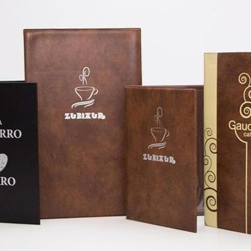Carpetas para catálogo, menús y corales: Catálogo de productos de Exclusivas Goimar, S. L.