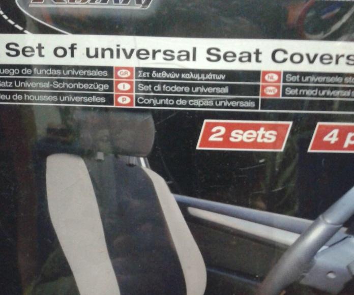 Funda de asientos delanteros