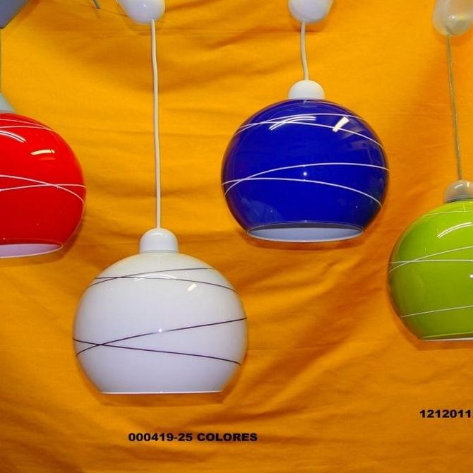 Las lámparas para crear ambientes