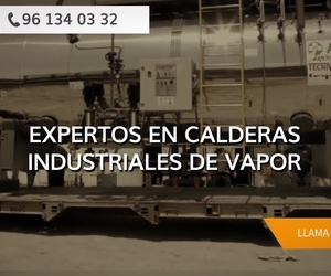 Calderas de vapor en Valencia | ATTSU Teyvi