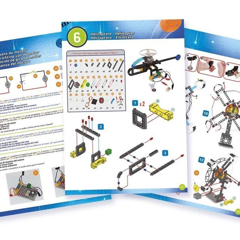 Circuitos eléctricos que mueven tus construcciones. Electricite expert. BUK