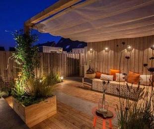 Consejos para habitar pequeñas terrazas en invierno.