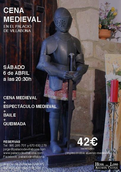 Cena medieval  palacio de Villabona