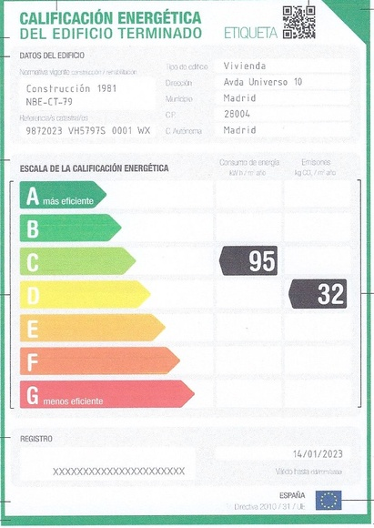 Certificacion Energética Edificios Existentes