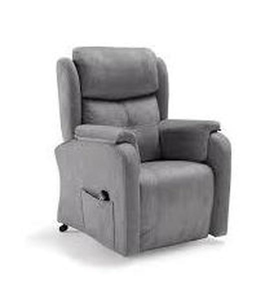 sillón relax, dos motores. tap. microfibra. 82x89x98