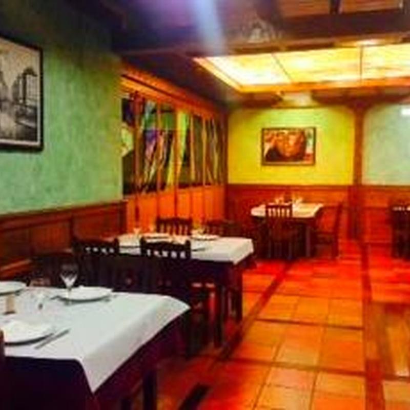 COMEDORES: MENUS Y CARTA de Mesón Restaurante El Pesebre
