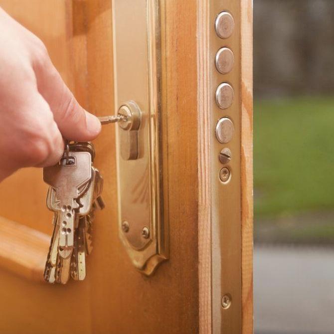 Para abrir la puerta de casa no necesitas llave