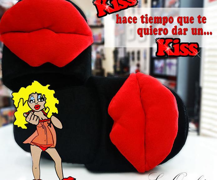 Zapatillas con labios