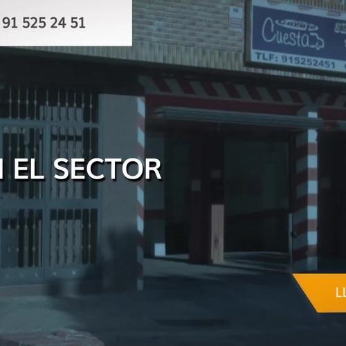 Alquiler de plazas de garaje en Carabanchel, Madrid | Cugapark