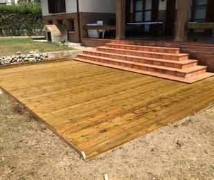 06. Porches y terrazas de madera