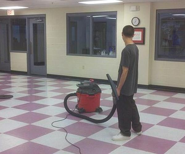 Limpieza de centros