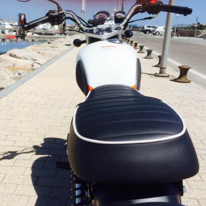 Ventajas de tapizar el asiento de tu moto