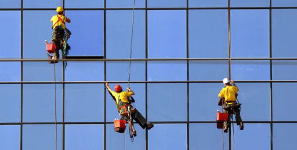 Limpieza de fachadas acristaladas: Servicios de Tinko Garbiketak
