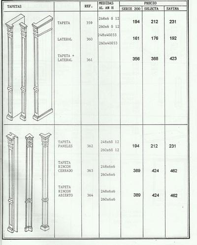 Catalogo mueble clásico para pressupuestos: Archi Mobel