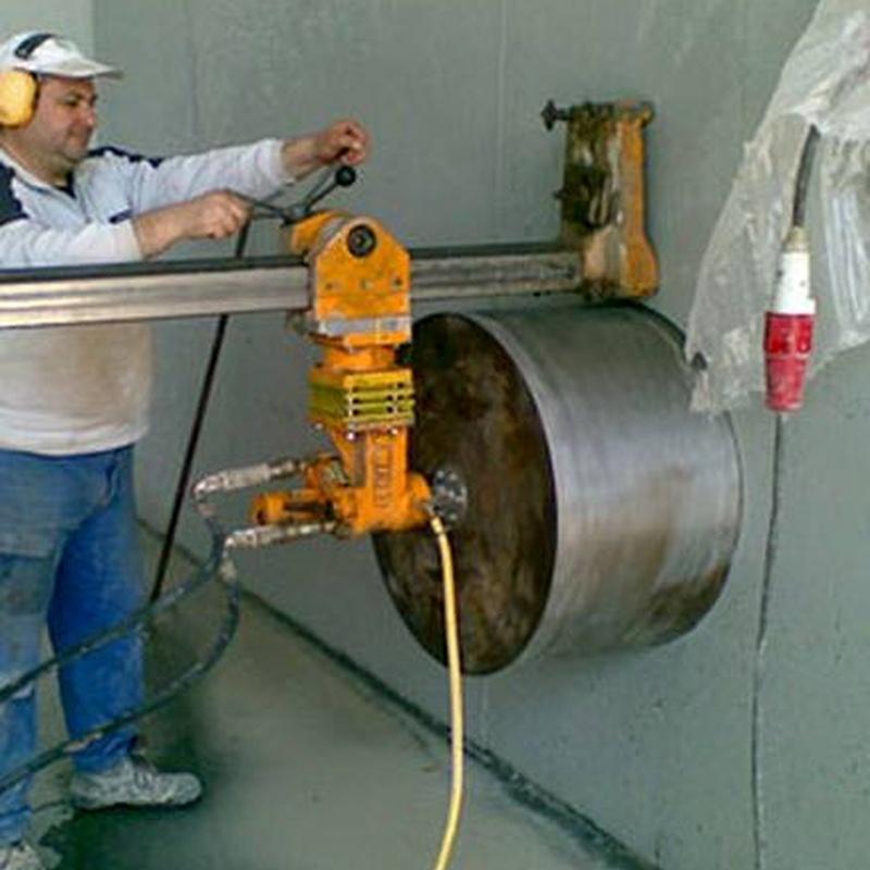Perforaciones en hormigón: Servicios de Perforaciones y Corte de Hormigón Miguel