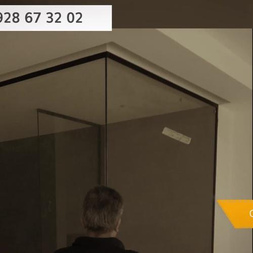 Mamparas de baño en Las Palmas de Gran Canaria | Aluminios Benilan