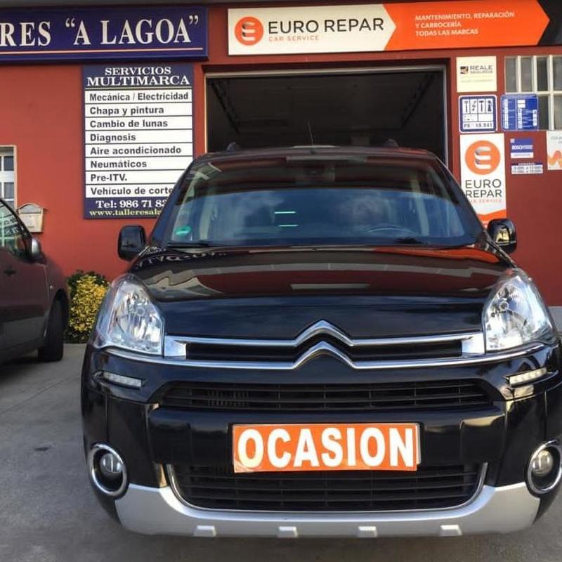 CITROEN BERLINGO 1.6HDI 115CV:  de Ocasión A Lagoa