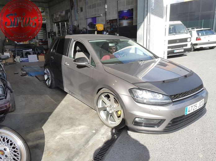 VW Golf 7 - 3SDM + EBC