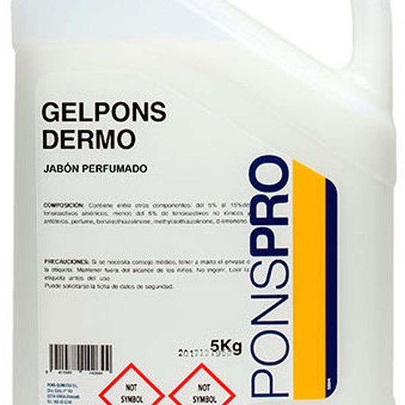 GELPONS DERMO: Productos y servicios de Prieto Larrey
