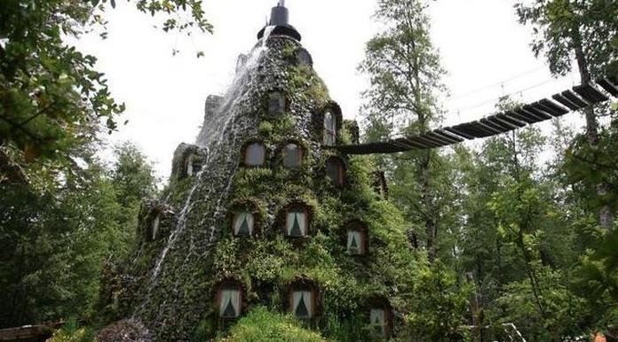 ¿Sabes cuáles son los 10 hoteles mas raros del mundo?