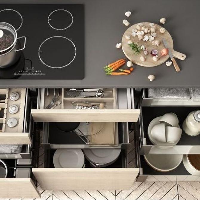 Cómo lograr una cocina bien aprovechada
