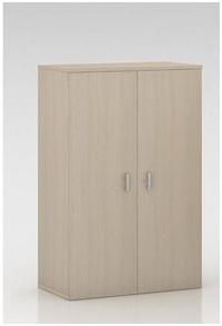 Armario mediano con puertas completas, cerradura y estantes