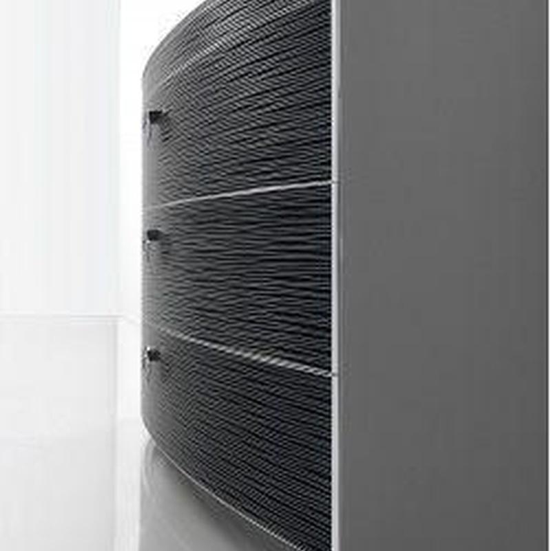 Mueble de baño Fiora Fussion Collection Perfilería de Aluminio