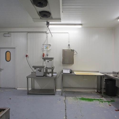 Sala de tratamiento y envasado