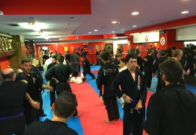 El GM PLANAS cinturón negro 10° Grado de Kenpo en tu gimnasio de las Rozas Ángel Ruiz Gym