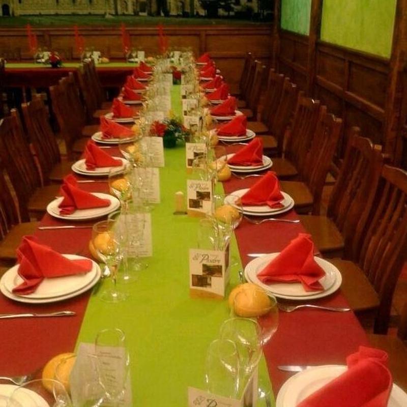 CENAS DE NAVIDAD: MENUS Y CARTA de Mesón Restaurante El Pesebre