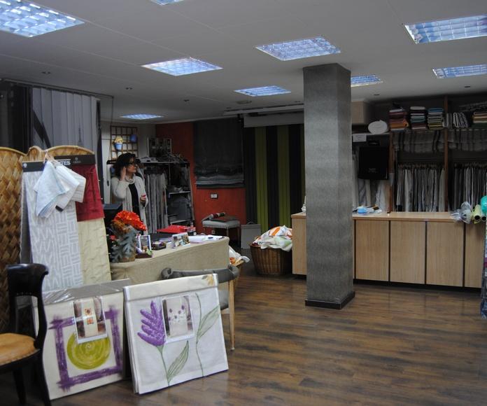 Yute´s, Sati, Alhambra, Handfabrics... Algunos de nuestros proveedores