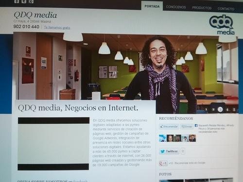 Diseño de páginas web en Madrid   Espacio Qonecta