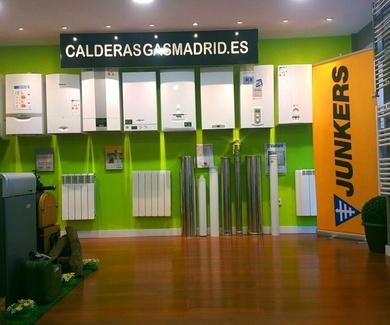 LA MAYOR TIENDA DE CALDERAS DE LA COMUNIDAD DE MADRID