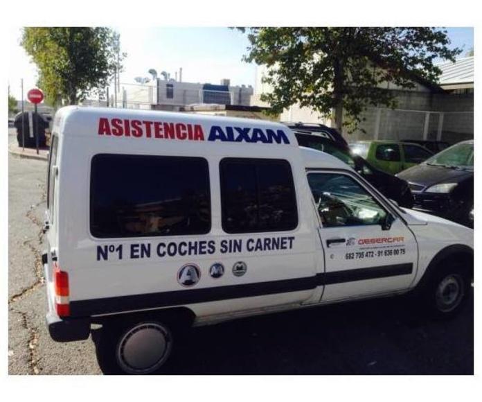 Tasamos su coche: Servicios de Gesercar