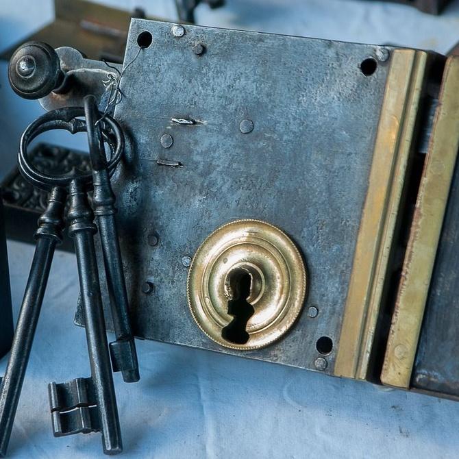 Historia de la cerrajería metálica