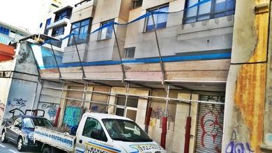Montajes de andamio multidireccional: Buenavista, Barrio de la salud y calle Tribulaciones (Santa Cruz)